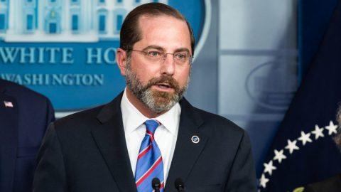 Trump Squashes Fake News Story On HHS Secretary Azar