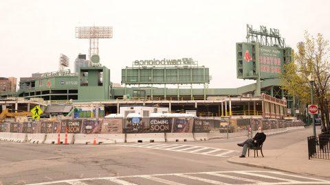 Striking Images From Boston's Empty Marathon DayS