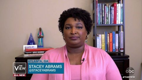Stacey Abrams Takes Break From Governing Georgia To Lie On 'The View'