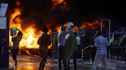1 killed, at least 16 injured in Nigerian fuel truck explosion
