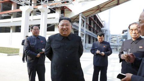 Kim Jong Un appears in public amid speculation