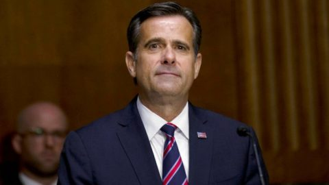 Senate holds confirmation hearing for DNI nominee John Ratcliffe