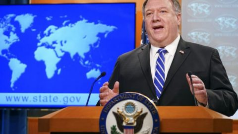 Secy. Pompeo warns of rising nat'l security threat posed by China