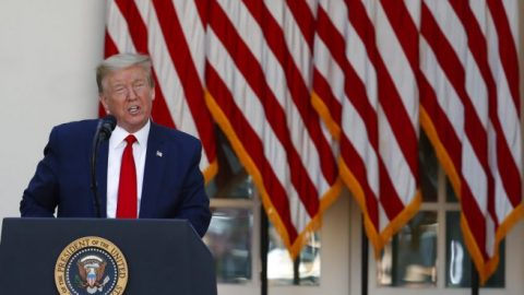 President Trump backs liability protection for businesses that reopen