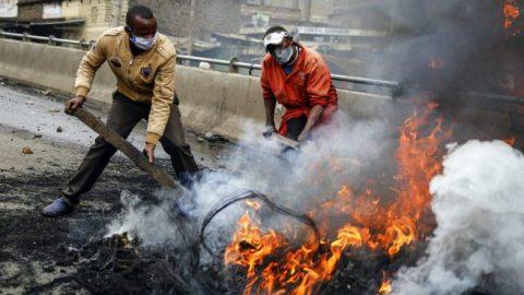 Kenyan government demolishes homes, sparks protest
