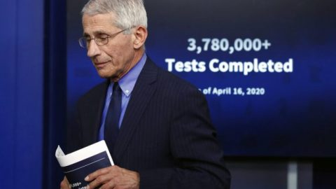 Dr. Fauci threatened President Trump with 'surprise outbreak' in 2017