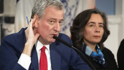 Mayor Bill de Blasio looking into spat between state health commissioner, NYPD