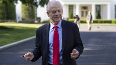 White House adviser Navarro blames China for U.S. economic situation