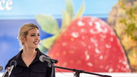 Ivanka Trump tours Coastal Sunbelt Produce