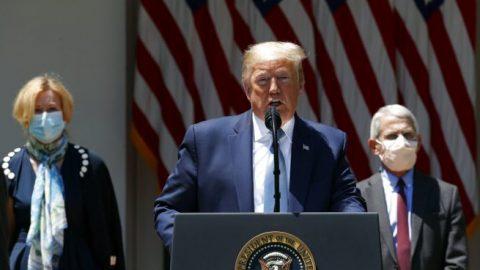 President Trump unveils new vaccine effort 'Operation Warp Speed'