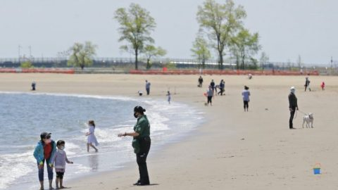 New York City mayor will not open beaches by Memorial Day