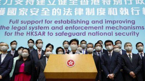 O'Brien: U.S. may place sanctions on China over Hong Kong legislation