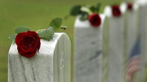 Americans pack war memorials despite pandemic