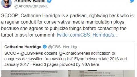 Biden Spokesman Attacks CBS Journalist, Calls Her 'Partisan, Rightwing Hack'