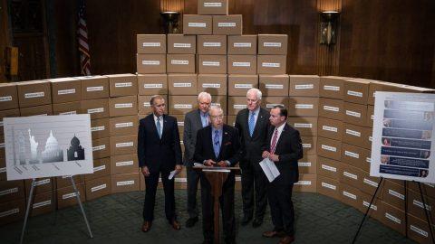 Democrats Demanded Millions Of Kavanaugh Records, But Stay Mum On Biden's Senate Records