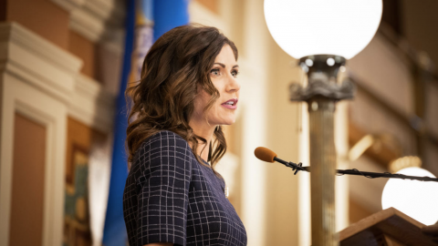 Media Attack Kristi Noem For Not Panicking And Destroying Her State
