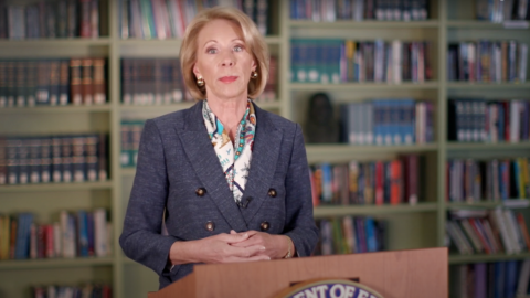 Seeking To Restore Due Process, Betsy DeVos Issues Final Title IX Rule On Sexual Misconduct