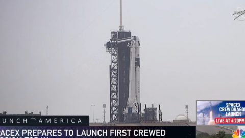 House Democrats Take Advantage Of New Proxy Voting Rules To Attend Space Launch