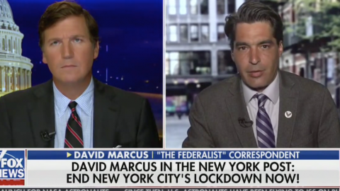 David Marcus: New York City Lockdown Must End. Now.