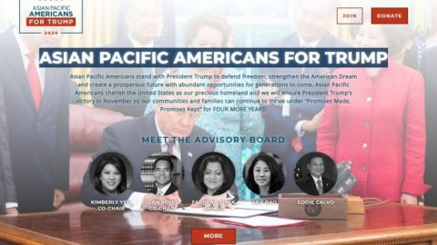 Trump campaign launches 'Asian Pacific Americans for Trump' coalition