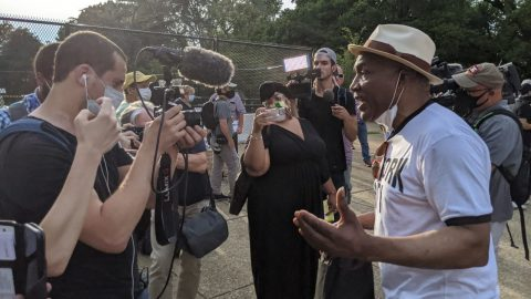 Black Community Elders Shutdown And Shame Anti-Statue Protest