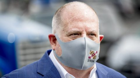 Gov. Hogan says vote-by-mail only safe option during pandemic