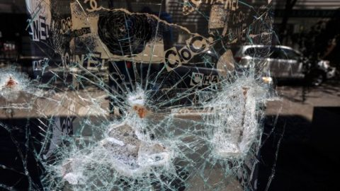 Looters target luxury stores in NYC
