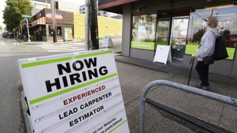 1.48 million Americans file for initial unemployment claims