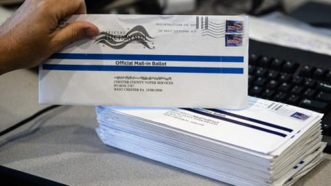 Primary voter turnout surges with mail-in ballots