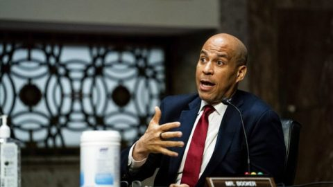Sen. Cory Booker says reexamining qualified immunity is 'on the table'