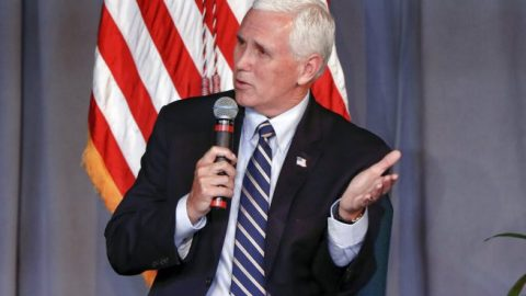 Vice President Mike Pence holds dialogue with faith, minority leaders