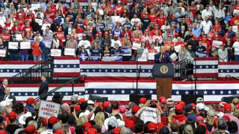 Nearly 1M request tickets for 'Make America Great Again' rally in Tulsa, Okla.