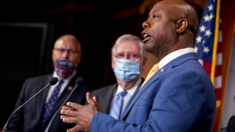 GOP senators call for bipartisan cooperation on police reform legislation