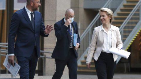 EU presses China on post-COVID trade ties, Hong Kong security law