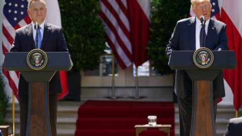 President Trump hosts Polish President Duda at White House