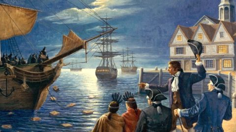 Comparing The Floyd Riots To The Boston Tea Party Insults Actual Patriots