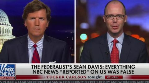 Federalist Co-Founder Sean Davis Responds To NBC, Google Deplatforming Attempt