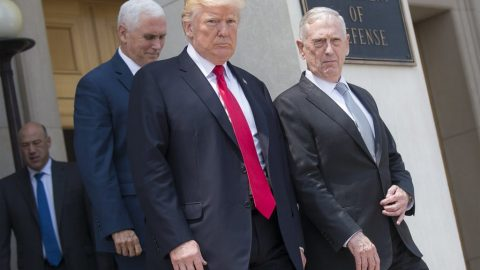 In Oval Office Interview, Trump Blasts Mattis, 'Military-Industrial Complex'