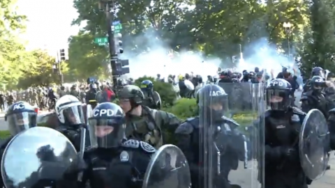 After Falsely Claiming Tear Gas Use, Media Now Trying To Pretend Tear Gas And Pepper Spray Are Identical