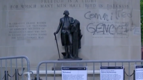 Tomb of the Unknown Soldier in Pa. vandalized