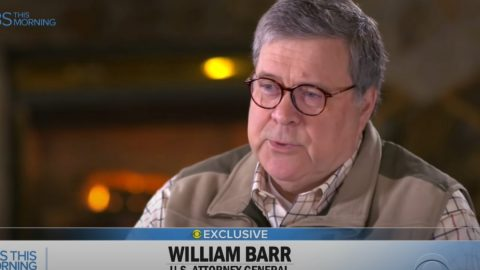Barr Says 'Peaceful Protestors' Are One Of The Big Lies From The Media