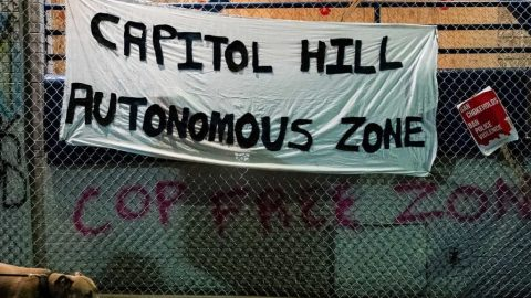 Seattle 'Autonomous Zone' Imposes Border Control, Celebrates Guns,