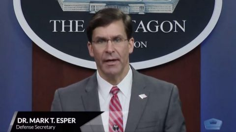 Defense Secy. Esper: Military will conduct internal review on race