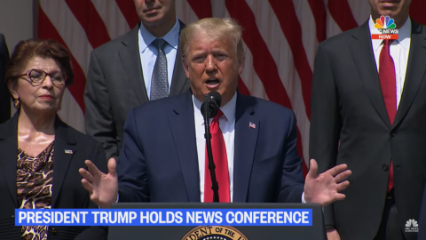 Media Reports Trump Comments Wildly Out Of Context, Claims He Said George Floyd Is Happy About Jobs Report