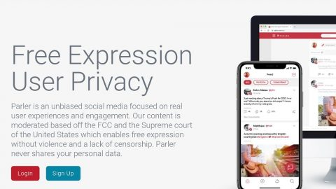 Jump Off Twitter And Into Parler For Tomorrow's Free Speech Friday