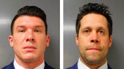 2 Buffalo police officers accused in fall of elderly man plead not guilty