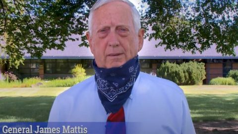 Gen. Mattis releases PSA video urging people to wear face masks