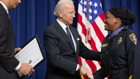 Biden's Pro-Cop Past May Hurt Him With Progressive Mob