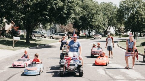Freedom Fires On All Cylinders At The Power Wheels Parade