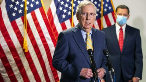GOP pushes for new stimulus bill amid economy recovery